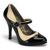 Nero Beige 11,5 cm TEMPT-07 Scarpe da donna con tacco altissime