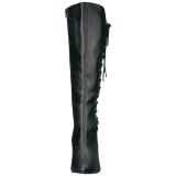Nero Ecopelle 10 cm DREAM-2026 grandi taglie stivali donna