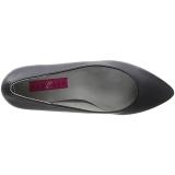 Nero Ecopelle 6,5 cm KITTEN-01 grandi taglie scarpe décolleté