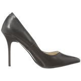 Nero Matto 10 cm CLASSIQUE-20 scarpe tacchi a spillo con punta