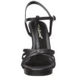 Nero Matto 12 cm FLAIR-420 Sandali Donna con Tacco
