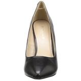 Nero Matto 13 cm AMUSE-20 scarpe tacchi a spillo con punta