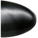 Nero Matto 13 cm ELECTRA-3050 Stivali alti e sopra al ginocchio