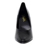 Nero Matto 13 cm SEDUCE-420V scarpe décolleté a punta