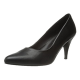 Nero Matto 7,5 cm PUMP-420 scarpe décolleté con tacchi bassi