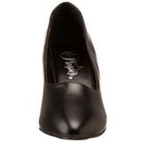 Nero Matto 8 cm DIVINE-420W scarpe décolleté con tacchi bassi