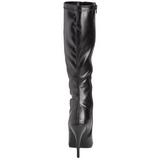 Nero Opaco 13 cm Pleaser SEDUCE-2000 Stivali Donna