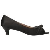 Nero Raso 5 cm FAB-422 grandi taglie scarpe décolleté