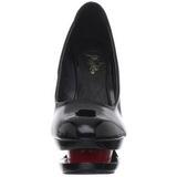 Nero Rosso 15 cm BLONDIE-685 Scarpe Décolleté Tacco Stiletto