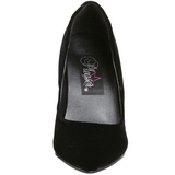 Nero Velluto 10 cm VANITY-420 scarpe décolleté a punta elegante