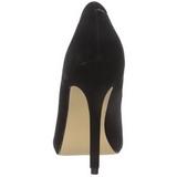 Nero Velluto 13 cm AMUSE-20 scarpe tacchi a spillo con punta