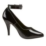 Nero Vernice 10,5 cm DREAM-431 scarpe décolleté con tacchi bassi
