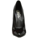 Nero Vernice 15 cm DOMINA-420 Scarpe Décolleté Tacco Stiletto