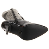 Nero Verniciato 13 cm SEDUCE-2020 Stivali Stringati Donna