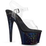 Ologramma 18 cm Pleaser ADORE-708HSP scarpe con tacchi da pole dance