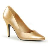 Oro Matto 10 cm VANITY-420 scarpe décolleté a punta elegante