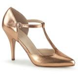 Oro Rosa 10 cm VANITY-415 scarpe décolleté cinturino a t