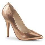 Oro Rosa 13 cm SEDUCE-420 scarpe décolleté a punta