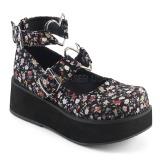 Panno di lino 6 cm SPRITE-02 scarpe lolita gotico calzature con suola spessa