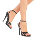 Patent 15 cm DOMINA-108 transvestite shoes
