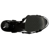 Patent 20 cm FLAMINGO-831 Platform High Heels Shoes
