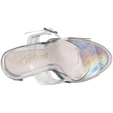 Pietre strass 13 cm LIP-108DM Scarpe da donna con tacco altissime