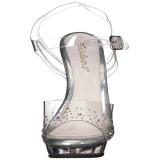 Pietre strass 13 cm LIP-108SD sandali tacchi a spillo