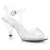 Pietre strass 8 cm BELLE-308SD scarpe per trans