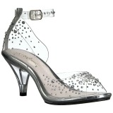 Pietre strass 8 cm BELLE-330RS sandali tacchi a spillo