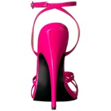 Pink 15 cm Devious DOMINA-108 high heeled sandals