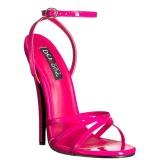 Pink 15 cm Devious DOMINA-108 sandali tacchi a spillo
