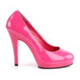 Pink Shiny 11,5 cm FLAIR-480 Women pumps for men