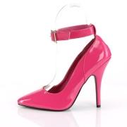 Pink Shiny 13 cm SEDUCE-431 Stiletto Pumps for Men