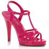 Pink Varnish 12 cm FLAIR-420 High Heels for Men