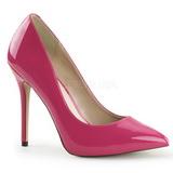 Pink Varnished 13 cm AMUSE-20 Women Pumps Shoes Stiletto Heels