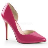 Pink Vernice 13 cm AMUSE-22 Scarpe Décolleté Classico Donna