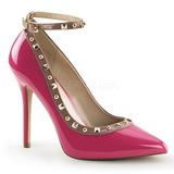 Pink Vernice 13 cm AMUSE-28 Scarpe Décolleté Classico Donna