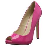 Pink Vernice 13 cm SEXY-42 Scarpe Décolleté Classico Donna