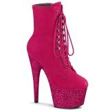 Pink glitter 18 cm ADORE-1020FSMG stivaletti exotic pole dance