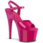 Pink plateau 18 cm ADORE-709 tacco alto pleaser