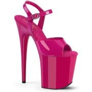 Pink plateau 20 cm FLAMINGO-809 tacco alto pleaser