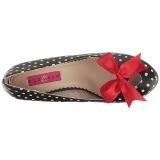 Punti Bianchi 11,5 cm PINUP-05 grandi taglie scarpe décolleté