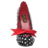 Punti Bianchi 12 cm retro vintage CUTIEPIE-06 scarpe décolleté con tacchi bassi