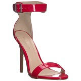 Red 13 cm AMUSE-10 transvestite shoes