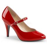 Red Patent 10 cm DREAM-428 big size pumps shoes