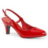 Red Patent 7,5 cm DIVINE-418 big size pumps shoes