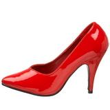 Red Shiny 10 cm DREAM-420 Pumps High Heels for Men