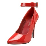 Red Shiny 13 cm SEDUCE-431 Stiletto Pumps for Men