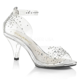 Rhinestones 8 cm BELLE-330RS transvestite shoes