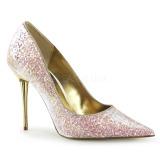 Rosa 10 cm APPEAL-20G scarpe décolleté con tacchi a spillo metallo alto